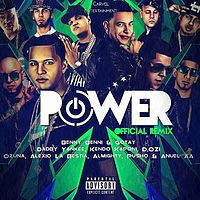 Benny Benni Ft. Gotay, Daddy Yankee, Alexio, Kendo Kaponi, Pusho, D.OZi, Ozuna, Anuel AA & Almighty - Power (Official Remix)(Www.CarvelEntertainmentGroup.Wordpress.Com).mp3