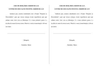 Projeto Respeito as Diversidades (Escolha de nome salas).doc