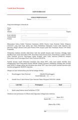 contoh surat pernyataan & pembetulan.doc