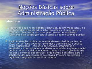 Organização Administrativa do Estado.ppt