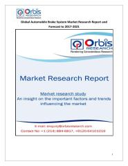 Global Automobile Brake System Market Research Report and Forecast to 2017-2021.pdf