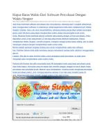 Cara menggunakan TimeStopper.docx