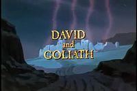 DAVI E GOLIAS - Um dos melhores desenhos bíblicos ....3gp