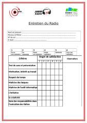 entretien du Radio.docx