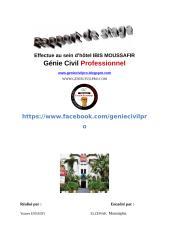 Rapport de stage Effectue au sein d'hôtel IBIS MOUSSAFIR.doc