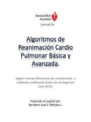 Algoritmos de reanimacion cardiopulmonar basica y avanzada.pdf