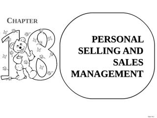 PERSONAL SELLING AND SALES MANAGEMENT.ppt