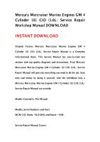 Mercury Mercruiser Marine Engines GM 4 Cylinder 181 CID (3.0L) Service Repair Workshop Manual DOWNLOAD.pdf