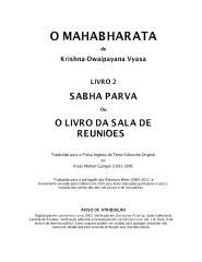 O Mahabharata 02 Sabha Parva em português.pdf