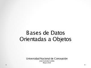 Archivo Base de Datos Orientada a Objetos Ref Archivo .pdf