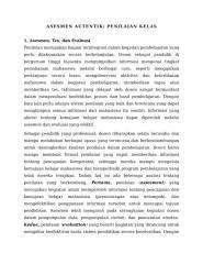 ASESMEN AUTENTIK dan Pengembangan SAP.docx