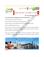 Different International Tour Packages are being offered by many holiday experts.pdf