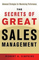 [Sales & Marketing] - The Secrets of Great Sales Management.pdf