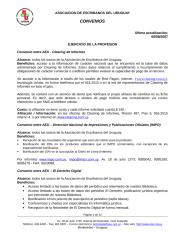 Covenio Clearing Informes.doc