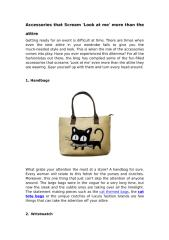 Accessories that Scream 'Look at me' more than the attire.pdf