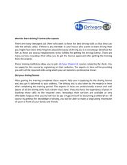 Want To Learn Driving Contact The Experts.pdf