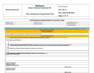 Performance Improvement Plan Form.doc